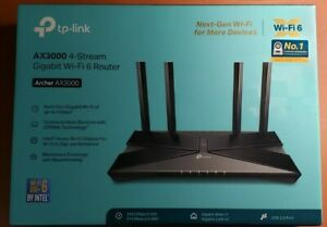 BRAND NEW IN BOX TP-Link  AX3000 Dual-Band Wi-Fi 6 Router FREE SHIPPING!