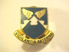 US Military 4th Aviation Battalion DI Pin Clutchback Crest Medal Badge G338