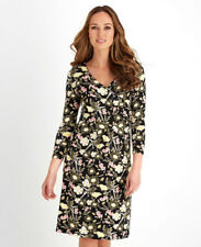 Joe Browns Quirky Bird Wrap Dress 40% OFF Crossover Bust 3/4 Sleeves