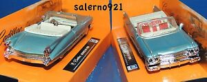 ONE 1959 CADILLAC SERIES 62 BLUE COLOR CONVERTIBLE 1:43 (O) Scale  NWB !