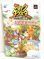 JAK & DAXTER Guide Book Sony PS2 SG58