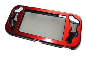 Nintendo Switch Lite Console Red Aluminium Metallic Shell Case UK