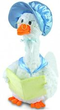 """NEW Cuddle Barn Blue """"Mother Goose"""" Song Motion 14"""" Animated Plush"""