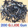 "Lot 200Pcs Dagger Sword Guns For GI JOE Cobra G.i joe 3.75"" Figure accessory toy"