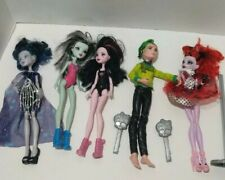 Monster High Doll Lot of 5 Dolls w/ Accessories