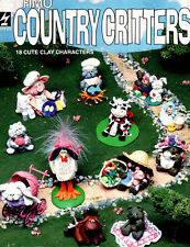 Fimo Country Critters ~ 18 Fimo Clay Projects ~ Craft Booklet ~ HOTP 272