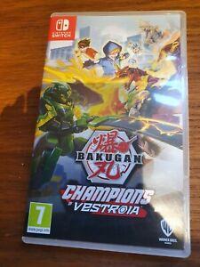 Bakugan Champions of Vestroia (Nintendo Switch, 2020)