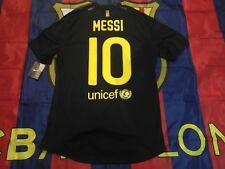 Barcelona 2011-12 away messi match player issue shirt(not meshed)