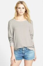 ec2fbc0fd9 Wildfox pullover, clean gray, baggy beach jumper, grey, sweatshirt, s.