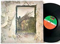 Led Zeppelin Self Titled IV - Atlantic SD 19121 Pecko Duck LP Vinyl Record Album
