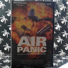 AIR PANIC (Bob Misiorowski) VHS . Rodney Rowland, Kristanna Loken, Alexander Enb