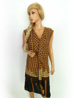 Rinascimento Women's Dress Size XL brown pattern