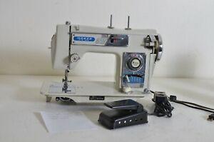 Vintage Morse Fotomatic III 4300 Auto Zig Zag Sewing Machine As Is Needs Work