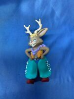 Hallmark Christmas Ornament Jump Along Jackalope Western Cowboy Myth Year 1994