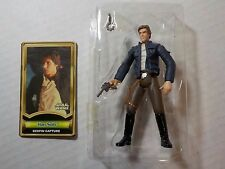 2000 STAR WARS Power of the Jedi POTJ HAN SOLO Bespin Capture 100% Complete