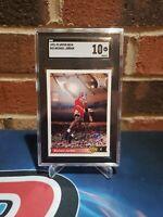 1992-93 Upper Deck #23 Michael Jordan Chicago Bulls HOF SGC 10 GEM MINT