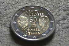 2 EURO COMMEMO ALLEMAGNE 2013  50 ANS DE L'ELYSEE (5 ATELIERS)