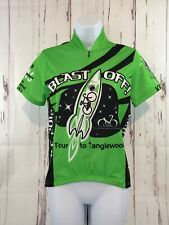 Revi Bike Race Cycling Jersey Womens Extra Small 2012 Tour to Tanglewood Green