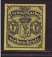 Bremen, Mi-Nr. 3, ungebraucht, geprüft (20615)