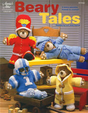 BEARY TALES Crochet Bears Patterns Book ~ NEW ~ Hobbies & Crafts