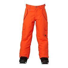 c541c1a3d6 Roxy Girls Grease Lightning Snowboard Pants (M) Spicy Orange