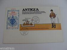 Queen Elizabeth II Silver Jubilee Coronation FDC Antigua 1978 #2