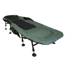 Carp Elite® Benson Luxus 8-Bein Karpfenliege 205x90cm Angelliege Campingliege