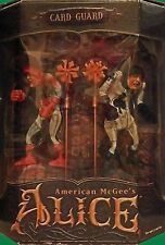 American McGee's Alice Card Guard 6 Piece Action Figure Boxed Set  NEW