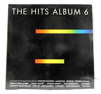 The Hits Album 6 vinyl DOUBLE LP 1987 Madonna Level 42 George Michael Mel & Kim