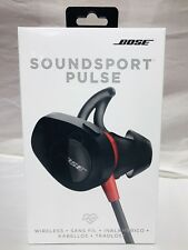 Bose SoundSport Pulse Wireless Bluetooth In-Ear Headphones -Red/Black Sealed