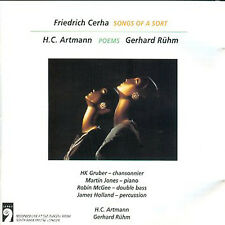 Cerha: Songs of a Sort - Artmann, Ruhm Poems (CD, Largo, AM) LN