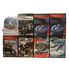 PS2 Game Lot Of 8 Racing Games Test Drive Grand Tourismo 3 Mx Be Atv Untamed