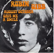 7inch ROBIN GIBB august october HOLLAND EX 1970 ( BEE GEES)