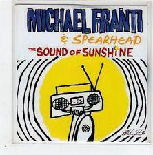 (GD775) Michael Franti & Spearhead, The Sound of Sunshine - DJ CD