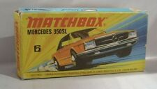 Repro Box Matchbox Superfast Nr. 6 Mercedes 350 SL