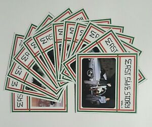 """STICKERS - EAST SIDE STORY STICKERS 1 SET OF 12. VOL. 1 - 12 4""""×4"""" WEATHER PROOF"""