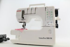 Janome Cover Pro 1000 CPX IN Own Workshop Tested And Tested