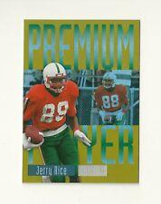 2013 Fleer Retro Skybox Premium Players #PP17 Jerry Rice 49ers Insert