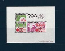 Niger  bloc jeux olympiques de Sapporo  1972  num:   8  **