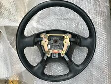 HONDA CIVIC 2DOOR COUPE LEATHER STEERING WHEEL IN BLACK 2003 MODEL