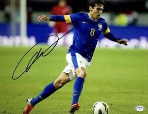 Ricardo Kaka Signed 11x14 Photo PSA AH69719 Soccer