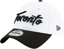 Toronto Raptors New Era White 2019/20 Earned Edition 9TWENTY Adjustable Hat