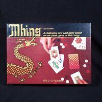 Vintage 1982 Mhing Card Game-Suntex International-Mah Jongg Based Fun-Complete!