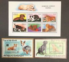 Anitigua #2103,2105-06 Dogs 1997 MNH