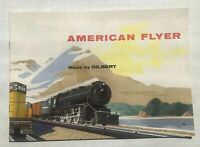 1950's Gilbert American Flyer Model Train Catalog--  Mint Condition!   D