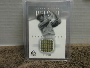 2001 SP Authentic Byron Nelson Match Used Shirt Swatch 69/100