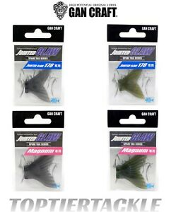 Gan Craft Jointed Claw Swimbait Spare Tails - Select Size/Color