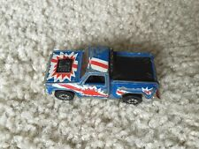 1980 KENNER RED/WHITE/BLUE DIECAST PICKUP TRUCK MAINE PLATES