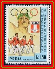 PERU 1988 OLYMPIC GAMES SC#928 MNH SPORTS