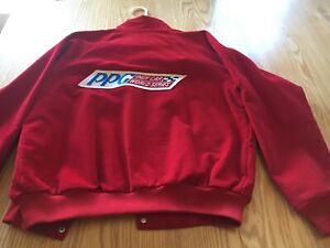 Racing Indy Car World Cart Racing Jacket PPG Mens Sz M  Worn Once Free Shipping